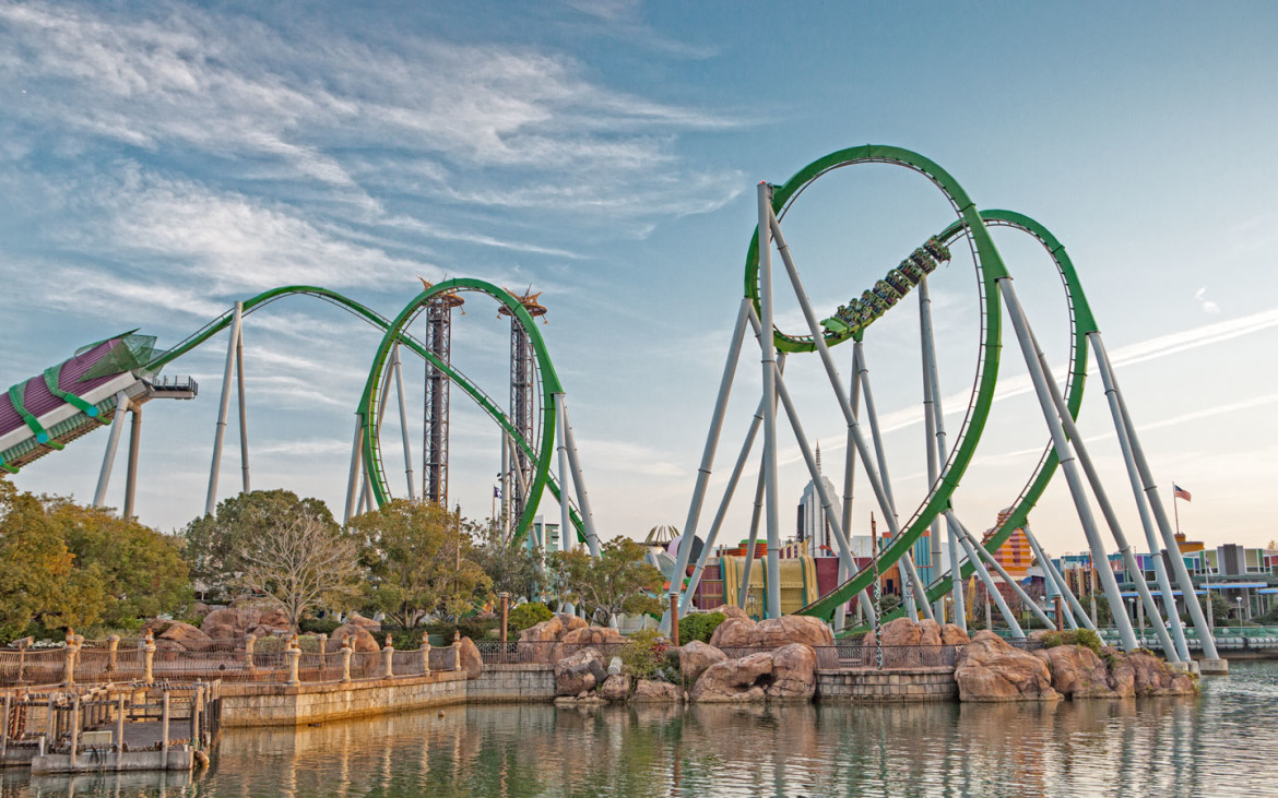 Incredible Hulk Coaster Gets New Lighting Package & More