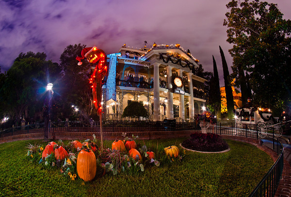 Ride Through This Year's Haunted Mansion Holiday at Disneyland