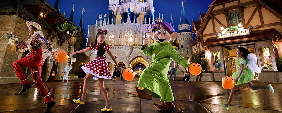 Are you ready for Halloween? The nation's top theme parks are