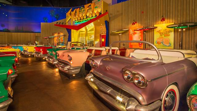 RESERVATIONS NOW AVAILABLE FOR BREAKFAST AT THE SCI-FI DINE-IN THEATER RESTAURANT AT WALT DISNEY WORLD RESORT