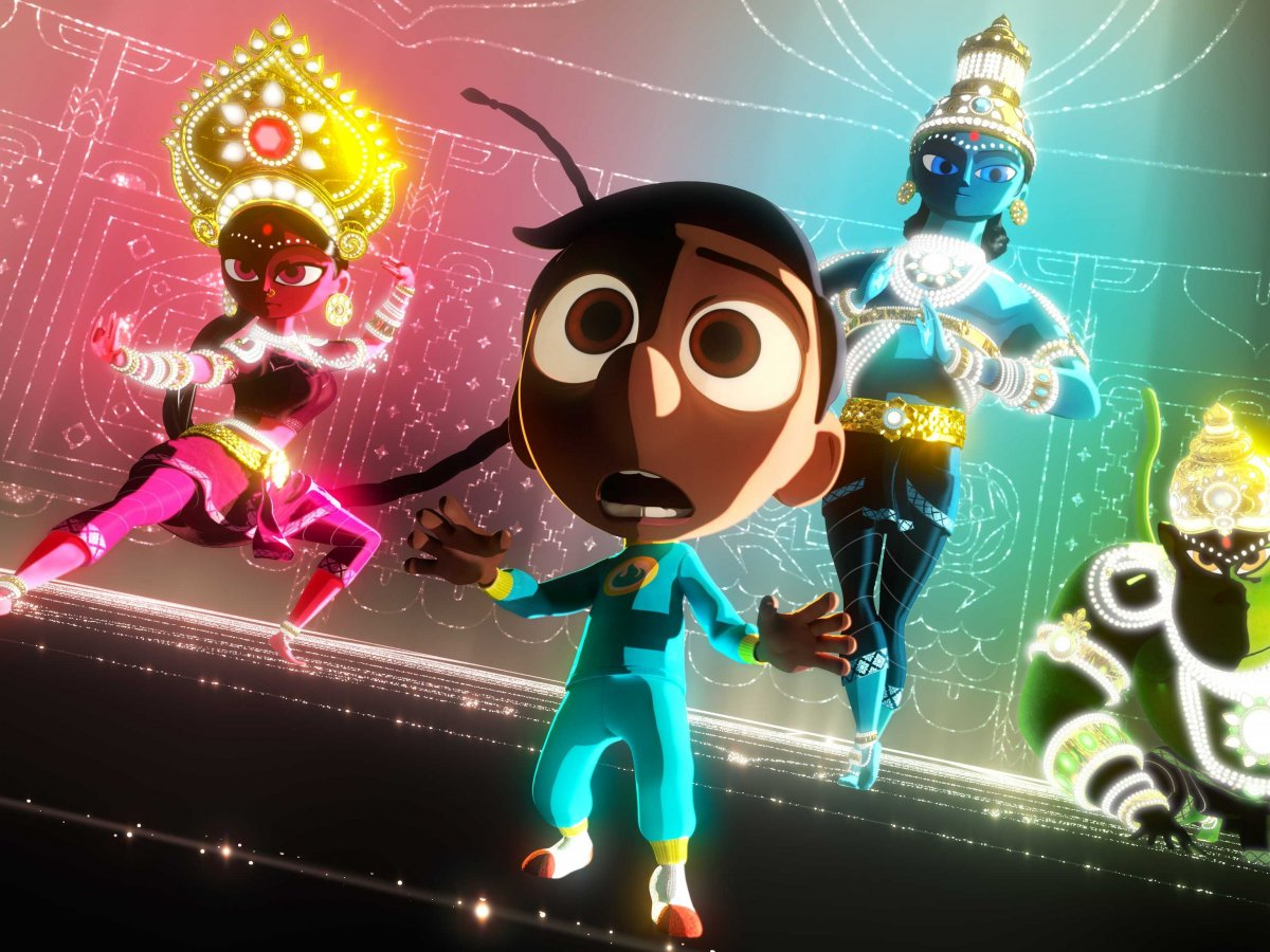 Pixar releases clip of upcoming short 'Sanjay's Super Team'