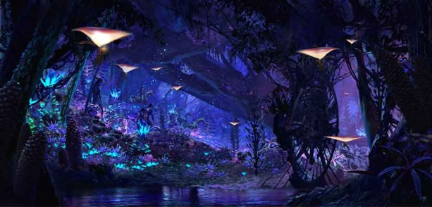 Newly filed permits appear to show Pandora's Na'vi River Journey ride layout