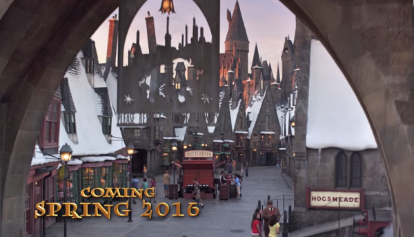 Universal sets opening date for West Coast's Wizarding World