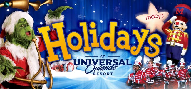 Holidays happenings begin at Universal Orlando