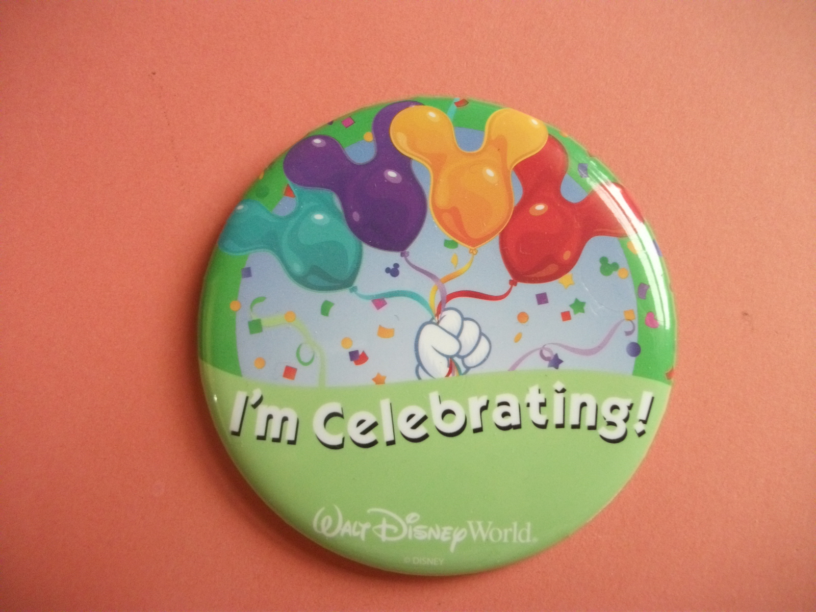 Walt Disney World Resort Swapping Out Celebration Buttons for 2016