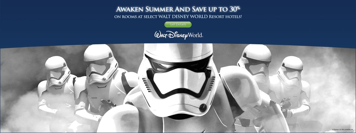 Walt Disney World Resort 2016 Summer Room Promo !