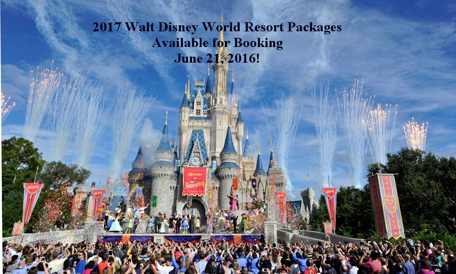 Only 9 Days Until 2017 Walt Disney World Vacation Packages Are Released On June 21st!
