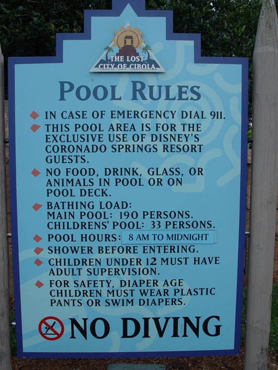 Is Pool Hopping Allowed at the Walt Disney World Resort?