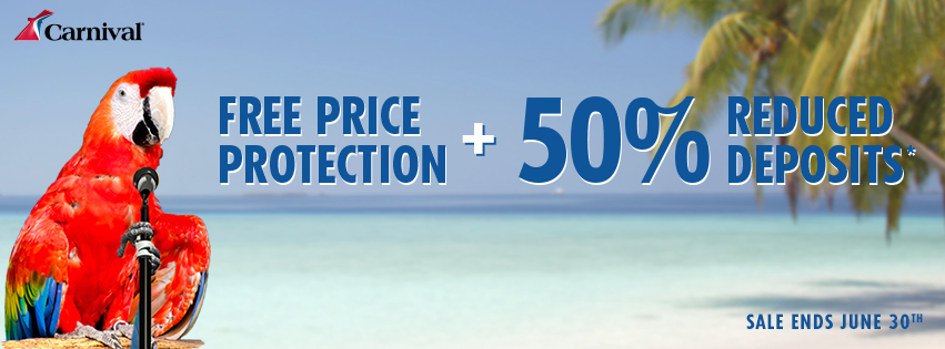 Carnival Cruise Early Saver Deals !