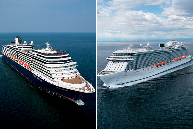 A Side by Side Comparison of Holland America and Princess Cruises
