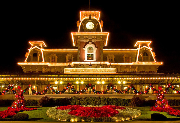 The Christmas Holidays & Mickey's Christmas Carol at the Magic Kingdom