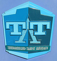 It's a Bright Day at Tomorrowland Transit Authority PeopleMover