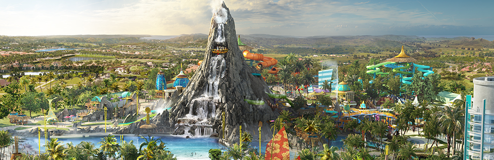Universal emphasizes that Volcano Bay is more than a water park