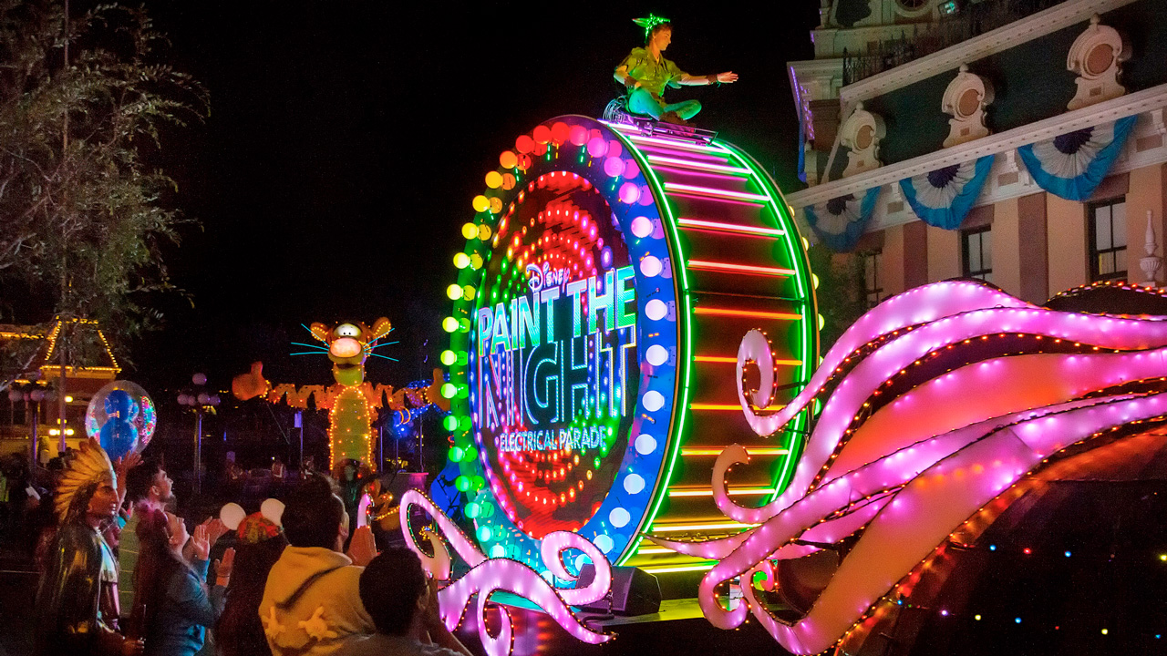 Watch #DisneyParksLIVE Stream of 'Paint the Night' Parade from Disneyland Park, July 25 at 8:50 p.m. PT