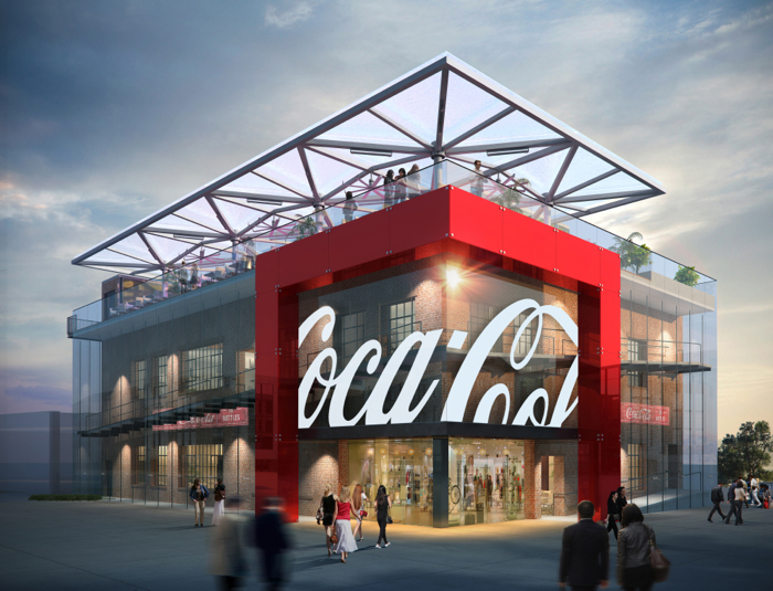 DWCT First Look At The Disney Springs Coca-Cola Store