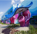 Construction Work Starts at The Seas with Nemo & Friends
