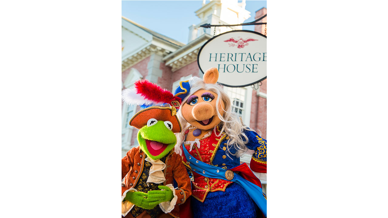 'The Muppets Present… Great Moments in American History' Debuts October 2 at Magic Kingdom Park