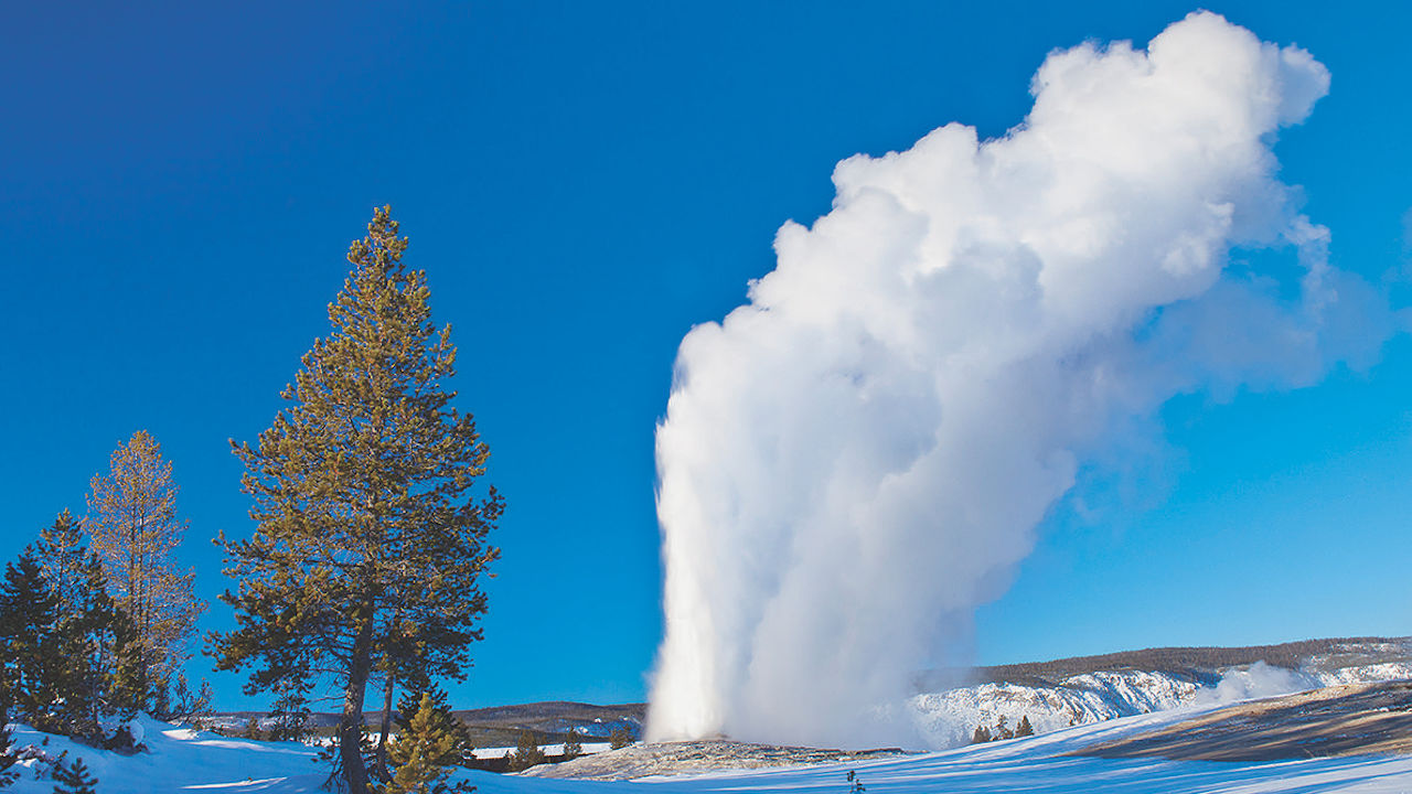 Explore a Snow-Covered Yellowstone National Park with Adventures by Disney