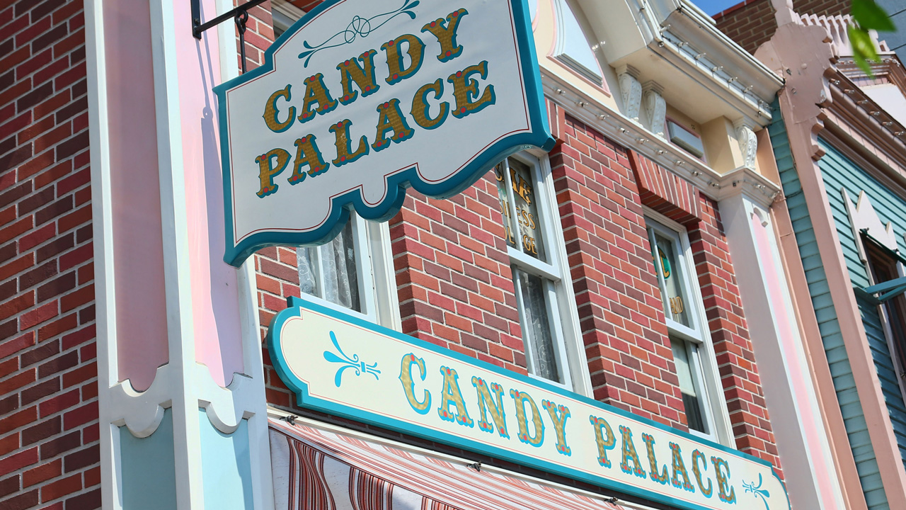 The Shops of Main Street, U.S.A.: Candy Palace and Penny Arcade