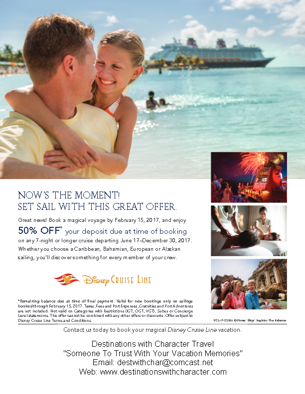 DCL 50% Off Down Payment