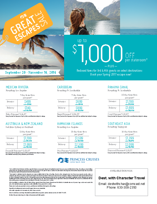 princess-cruises-great-escape-flyer