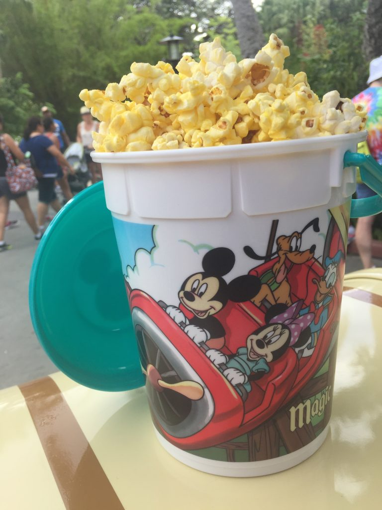 Refillable Popcorn Available at WDW Through October 31