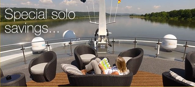 Tauck Tours – Special Solo Cruiser Savings on 2017 River Cruises for Past Tauck Clients!