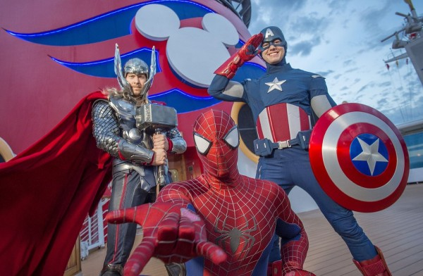 FAMILY FUN ON MARVEL DAY AT SEA CRUISES DEBUTING FROM NEW YORK CITY THIS FALL