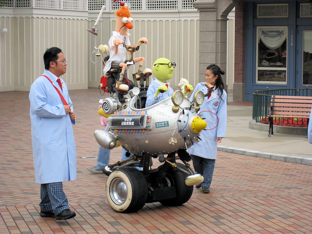 Muppet Mobile Lab Returns To Epcot Future World for Limited 4 Week Run!