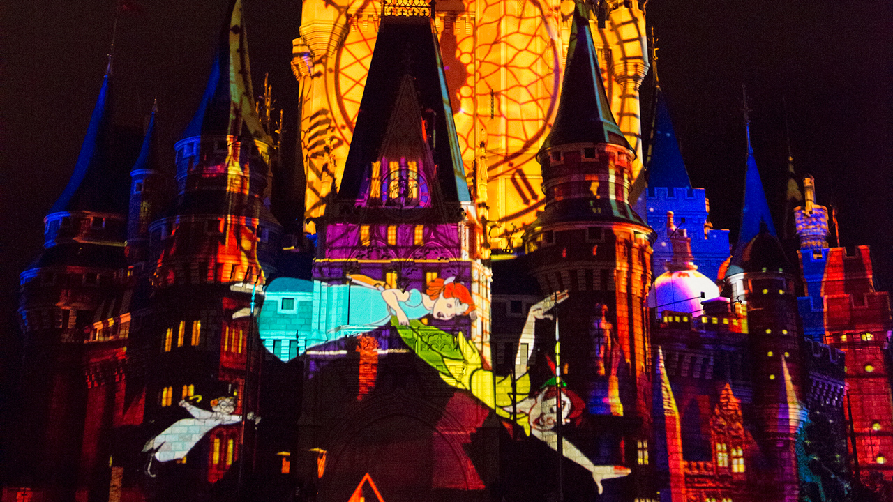 """ONCE UPON A TIME"" PROJECTION SHOW BEGINS NOVEMBER 4 AT MAGIC KINGDOM PARK"