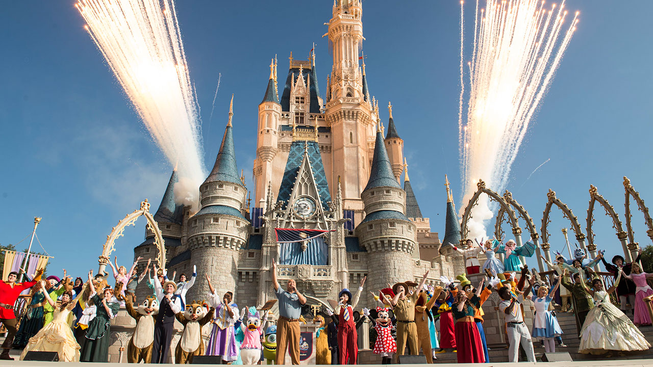 Walt Disney World Resort Marks 45 Years With Character