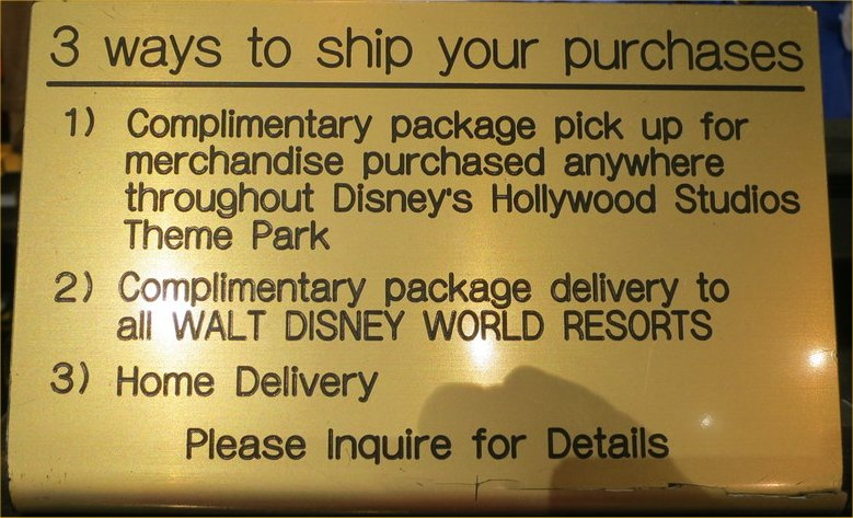 3 Ways to Hold or Ship Your Packages from The Walt Disney World Parks