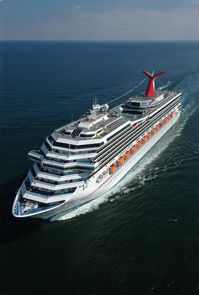 Video Shows Boy Climbing Overboard on Carnival Cruise Ship