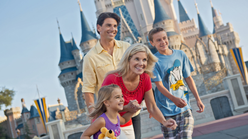 DISCOVER ENDLESS MAGIC AT ALL FOUR WALT DISNEY WORLD RESORT THEME PARKS WITH A NEW SPECIAL TICKET