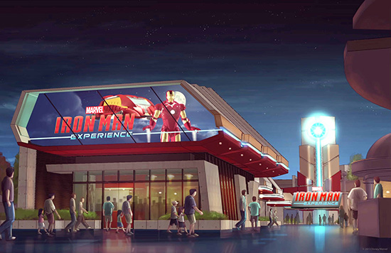 Opening Date Set for Iron Man Experience, Hong Kong Disneyland's Marvel-Themed Ride