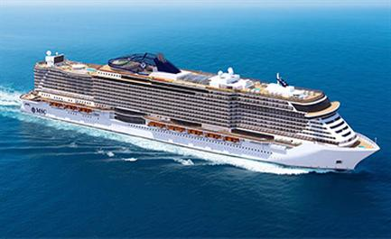 WATCH: MSC Cruises Floats Out New MSC Seaside and Prepares Its Miami Berth