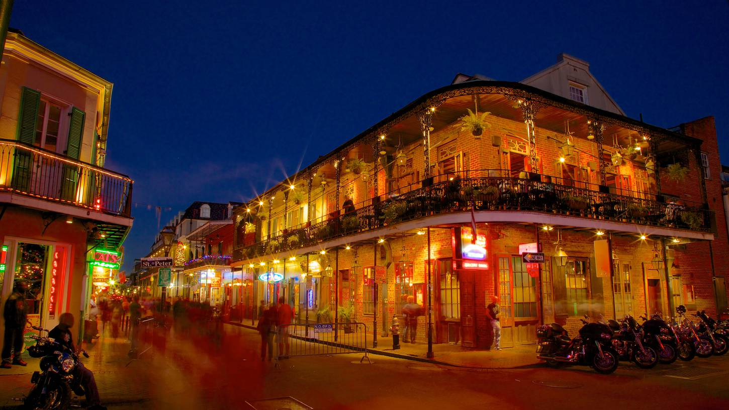 New Orleans French Quarter shooting kills 1 and wounds 9