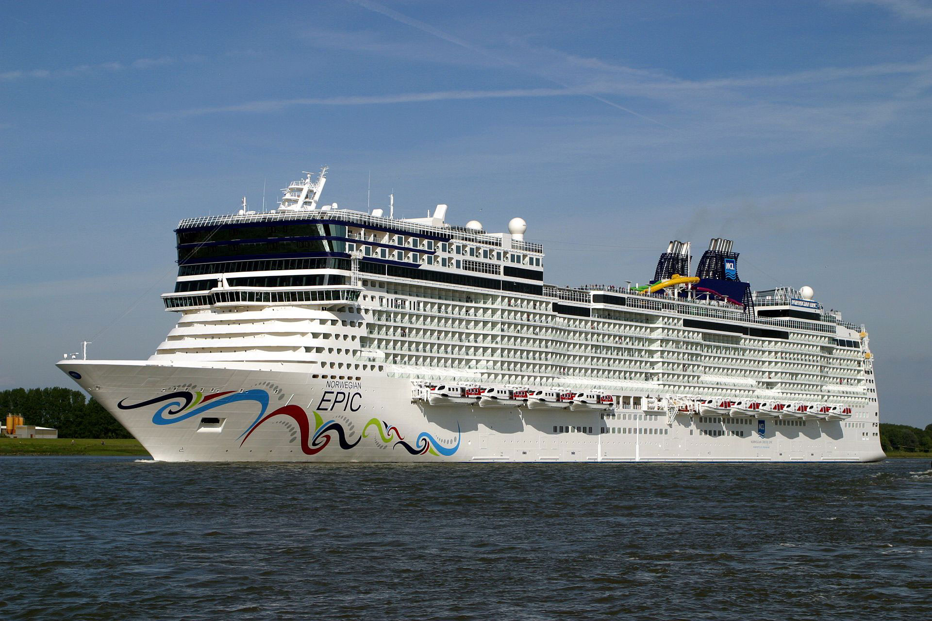 Norwegian Epic Sails From Port Canaveral