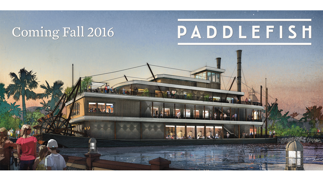 11 Questions With Executive Chef Mark Boor At Paddlefish at Disney Springs, Opening Late 2016
