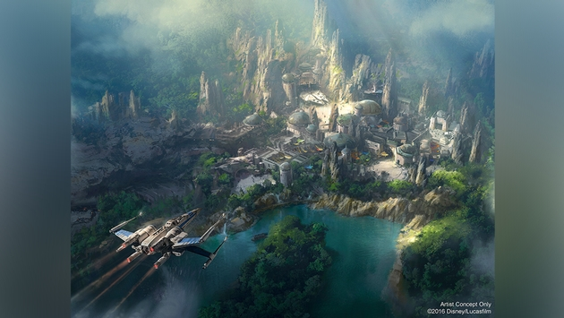 Pavilion Dedicated to Star Wars Land Coming to D23 Expo