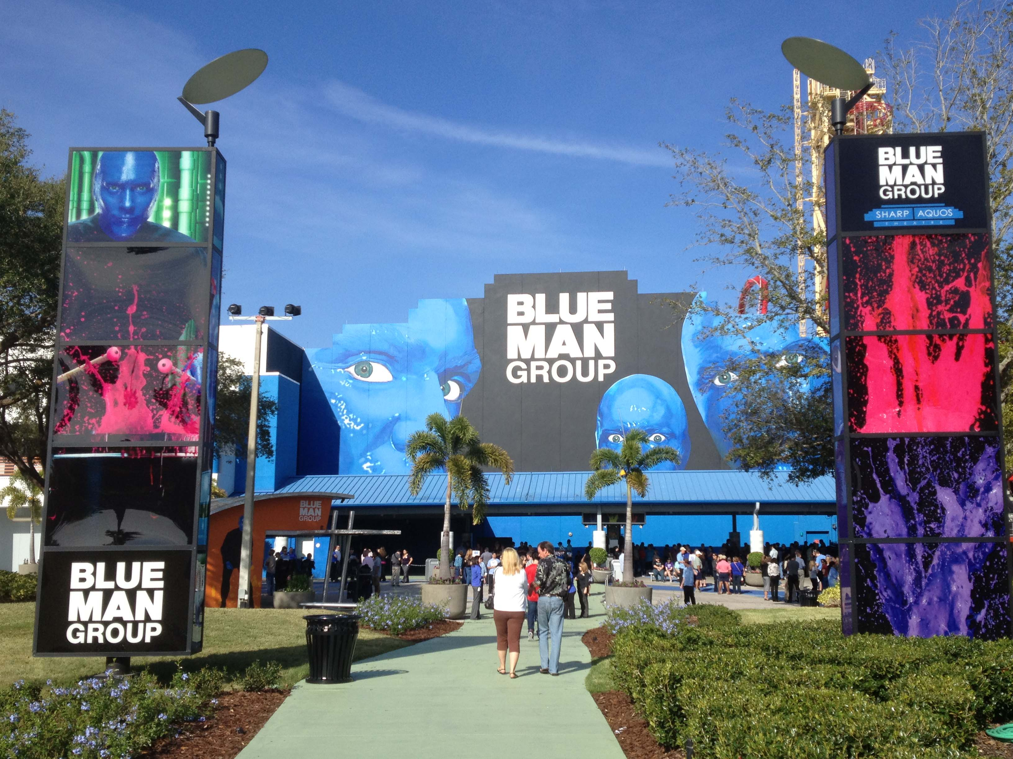 BLUE MAN GROUP LAUNCHES NEW VIP EXPERIENCE