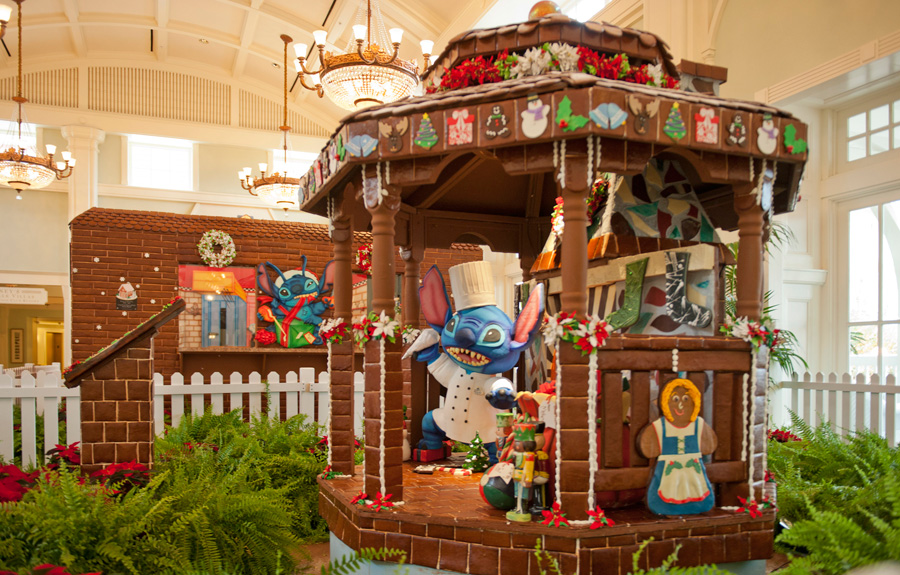 Fantastical Gingerbread Works of Art Across Walt Disney World Resort