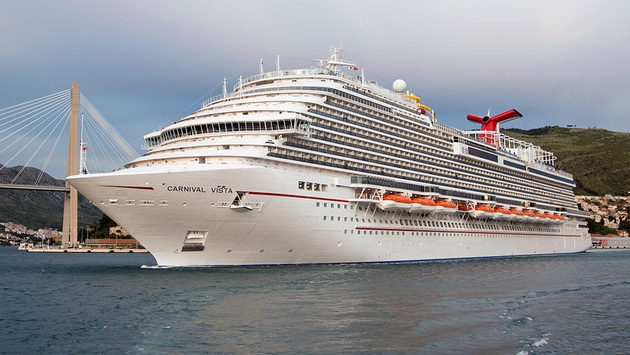 Carnival Cruise Line Announces New Vista Class Ship to Be Delivered in 2019