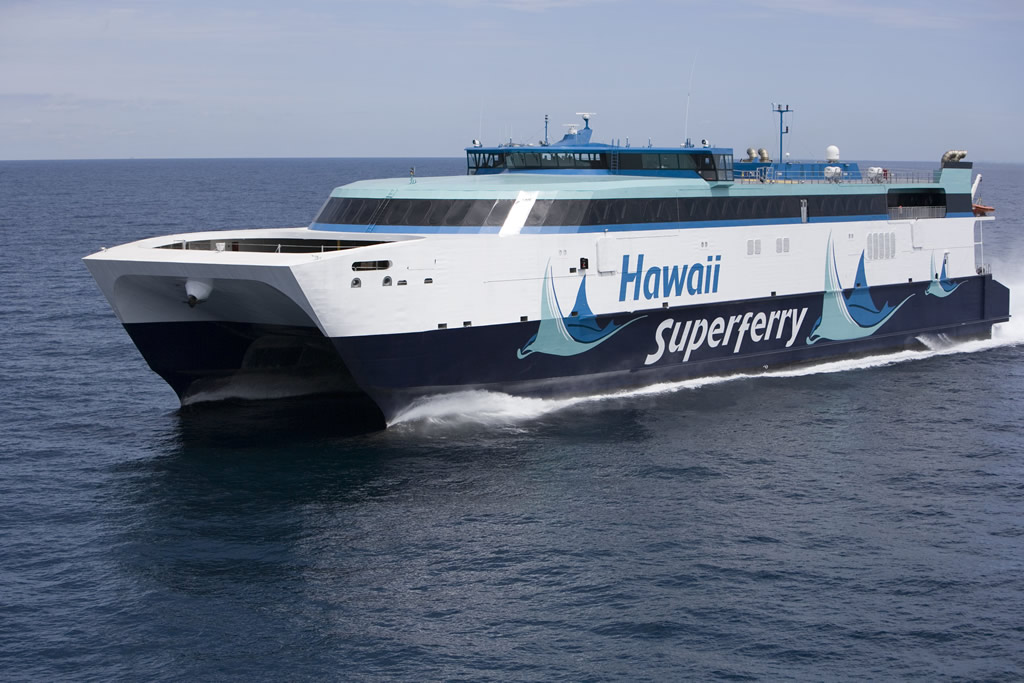 Hawaii considers revival of inter-island ferry