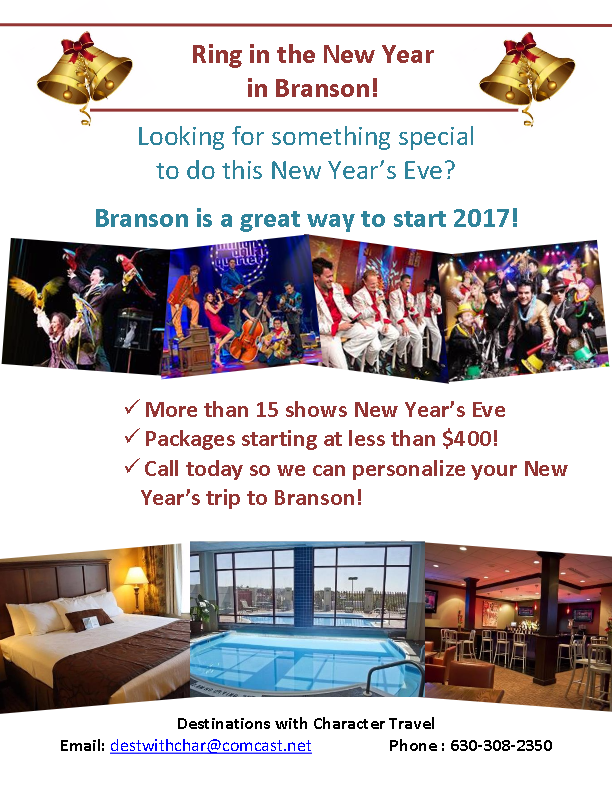 New Year's In Branson – DWCT