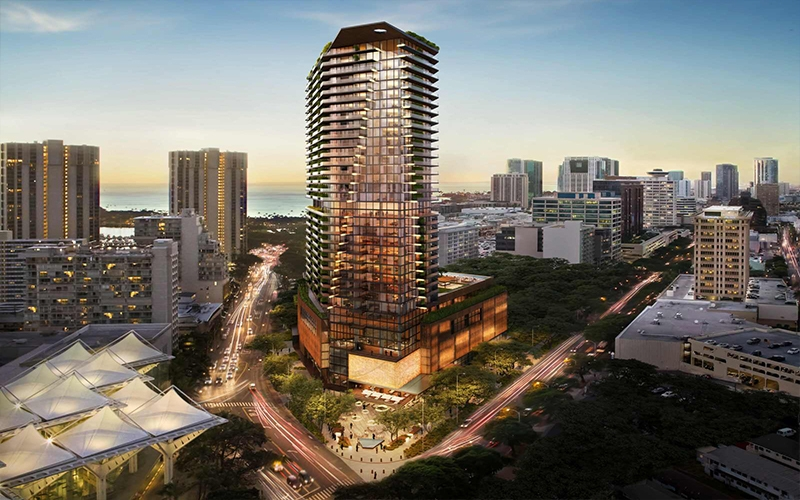 Mandarin Oriental to Open Luxury Hotel and Residences in Honolulu, Hawaii