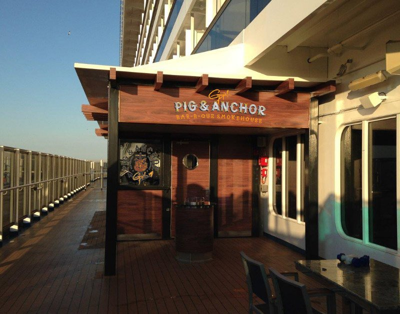 Carnival Breeze Adds Guy Fieri Smokehouse, Alchemy Bar During Drydock