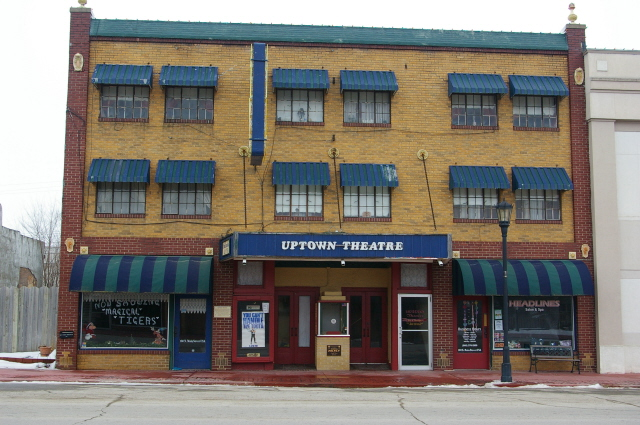 Marceline : Uptown Theatre in Walt's Hometown