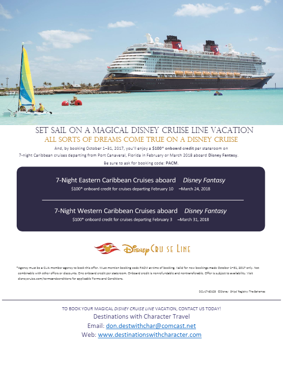 DCL Plan a Cruise Month2
