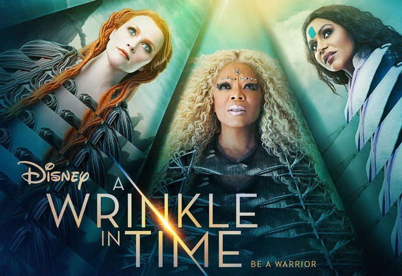 BE A WARRIOR AND CATCH A SNEAK PEEK OF DISNEY'S 'A WRINKLE IN TIME' AT DISNEY PARKS